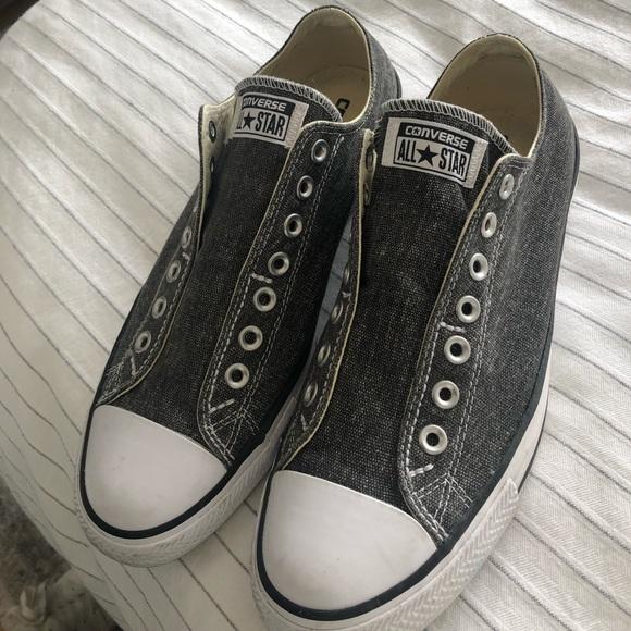 Converse Shoes | No Lace Mens Size 9